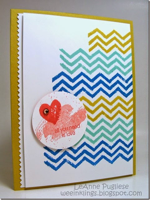 LeAnne Puglise WeeInklings ColourQ245 Work of Art Stampin Up