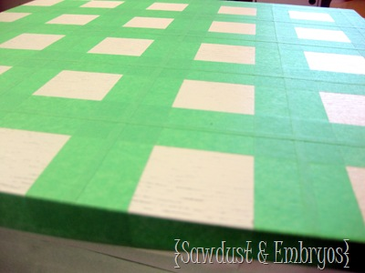 Fun grid painting project