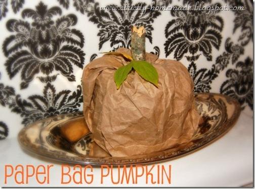 Paperbag Pumpkin