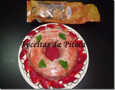 Manjar de Kandy côco e morango