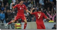 Mario Gomez gol en champions