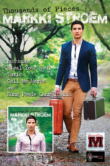 Markki Stroem's Thousands of Pieces album poster