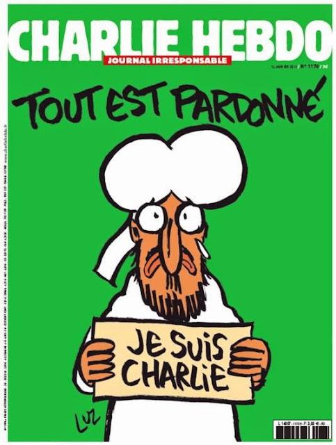 CharlieHebdo keluarkan karikartun terbaru Nabi Muhammad