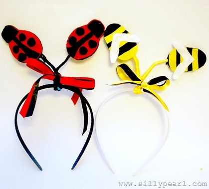 Easy DIY Ladybug and Bee Antenna by The Silly Pearl