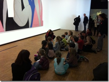 Kids at Matisse