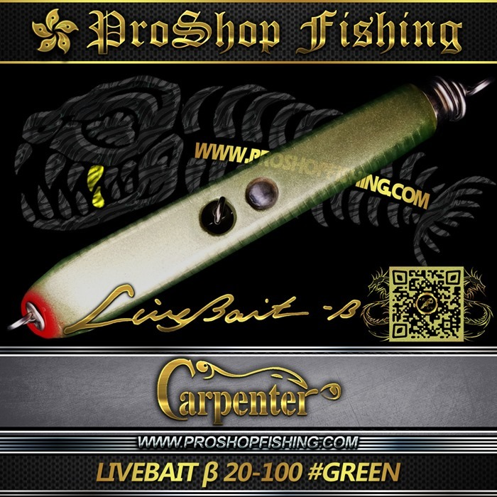 carpenter LIVEBAIT ε 20-100 #GREEN.4