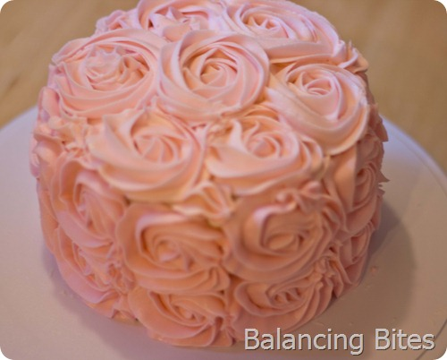 Rosette Cake 3