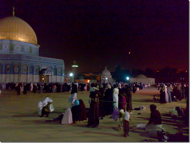first friday in ramadan palestine