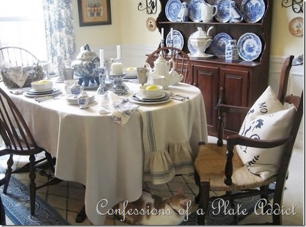 CONFESSIONS OF A PLATE ADDICT: Decorating with Country French Fabrics