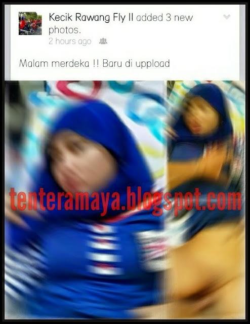 Upload Foto X Di Facebook Selepas Projek Malam Merdeka