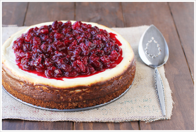 Cranberry goat cheese cheesecake 2