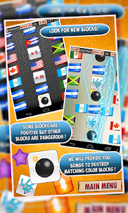 Flags of the World:The Puzzle+ - screenshot