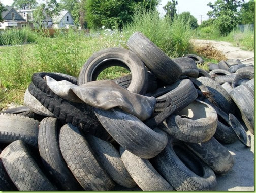 Detroit dumped-tires