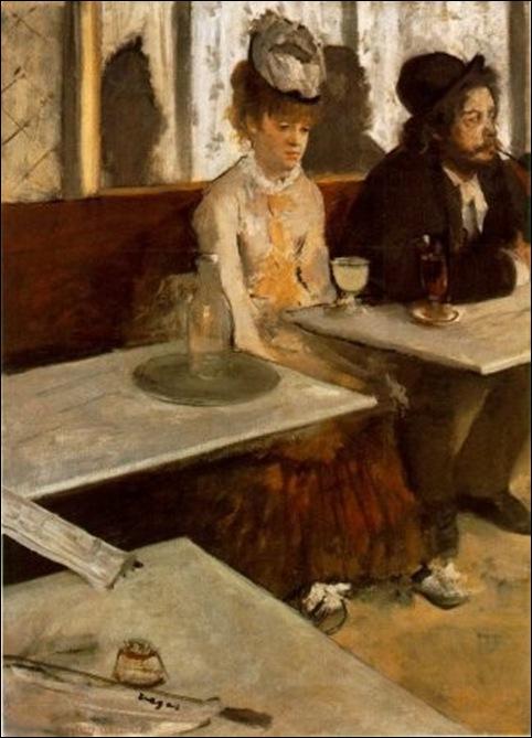 Degas, L'absynthe