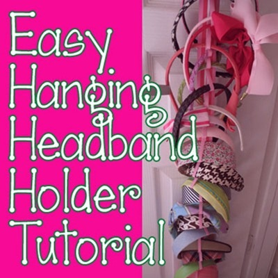 Headband storage craft tutorial