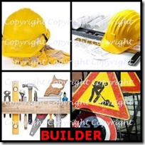 BUILDER- 4 Pics 1 Word Answers 3 Letters