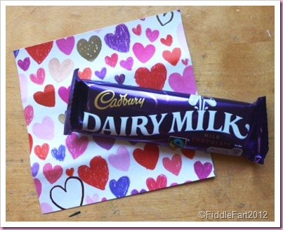 Valentine Chocolate bar