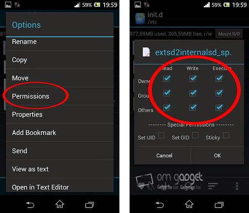 Cara SWAP Memori Eksternal Menjadi Internal Sony Xperia M