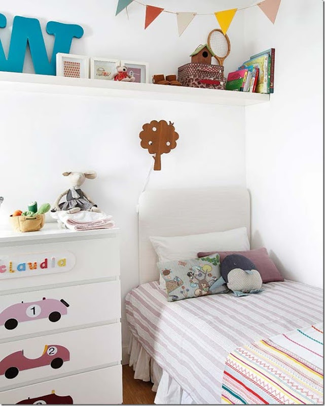 Pretty Pastel Colors in Nursery- design addict mom #nursery #kids