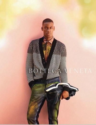 David Agbodji @ Request  by Jack Pierson for Bottega Veneta S/S 2012.