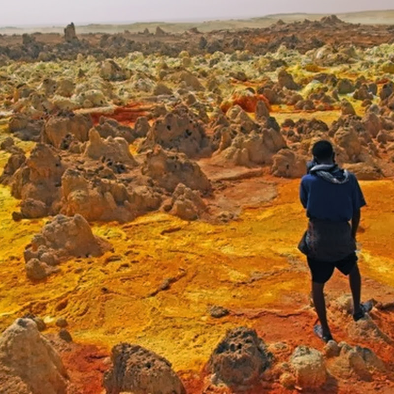 DALLOL: THE HOTTEST INHABITED PLACE ON EARTH