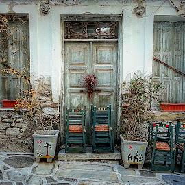ruins.. by Evangelia Baliou - City,  Street & Park  Street Scenes