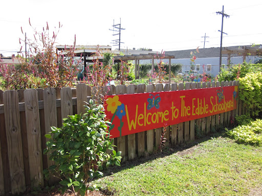The Edible Schoolyard is attached to Samuel J. Green Charter School, where 98% of students qualify for the federal free or reduced lunch program.