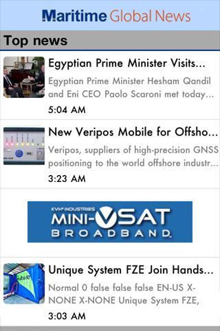 Maritime Global News