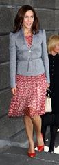 HRH Crown Princess Mary Danii uczestniczyć bpWftkCDTrrl obiadowe