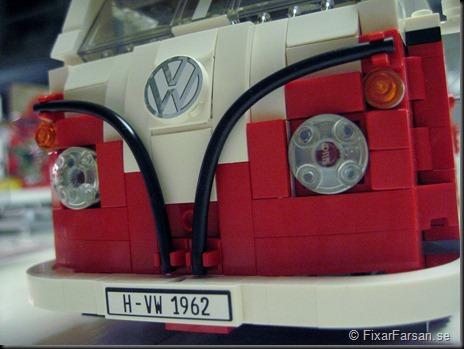 Front VW märke Lego 10220 Volkswagen T1 Camper Van Bilder