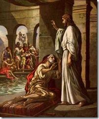 Jesus cura em sabado no templo