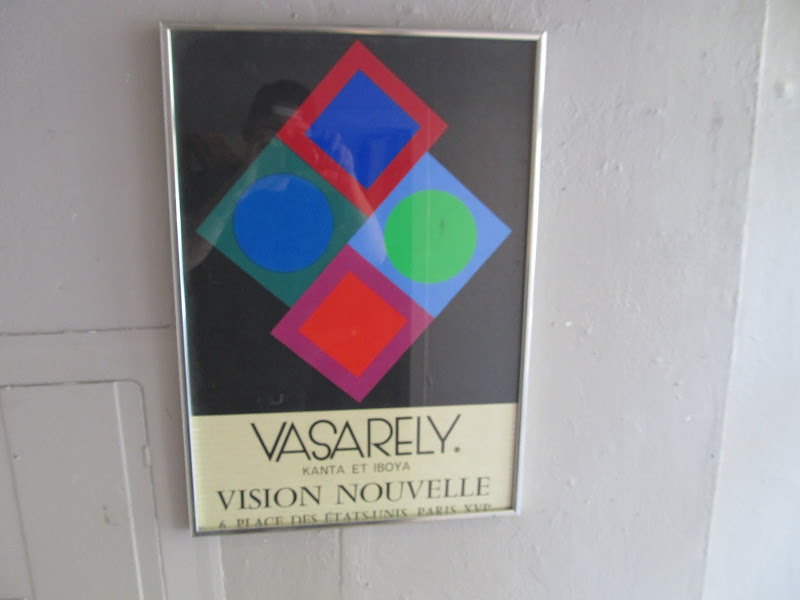 Vasarely Exhibit Poster