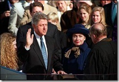 President Clinton Swearing In