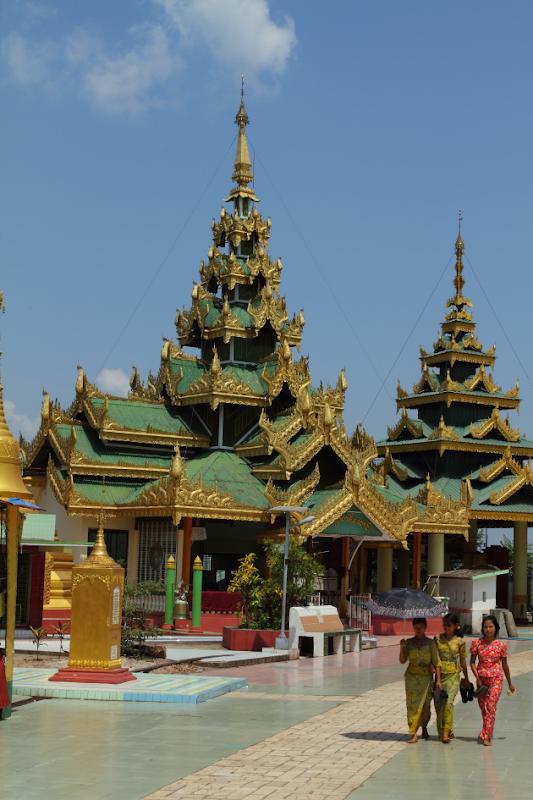 Pagoda at Twante, Burma