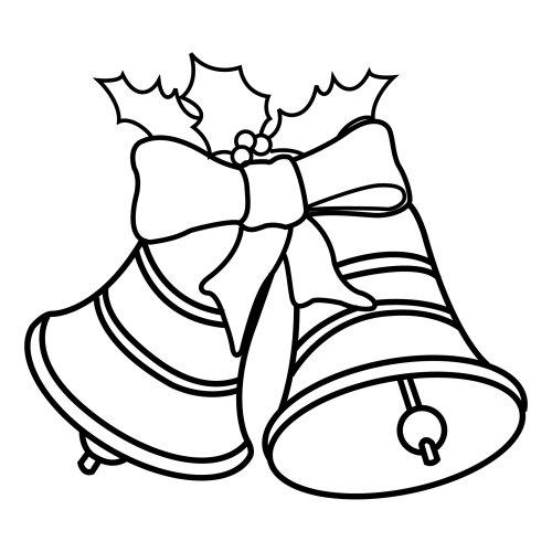 Christmas coloring sheets - Campanas de navidad ...