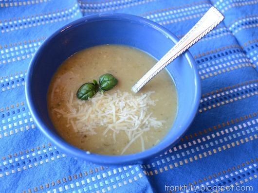 mushroom zucchini soup