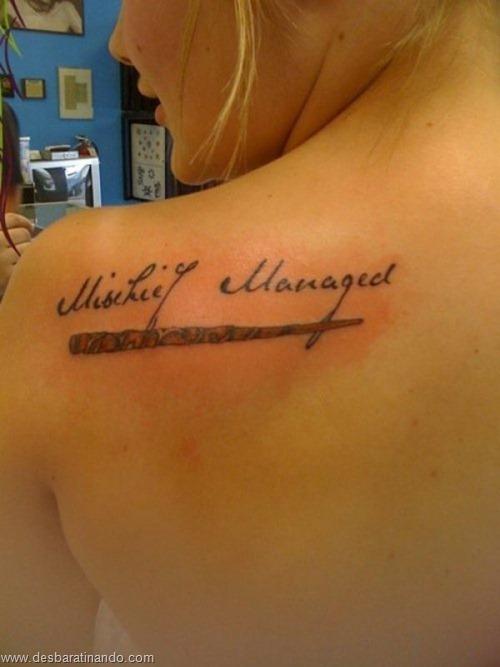 tatuagens harry potter tattoo reliqueas da morte bruxos fan desbaratinando (2)