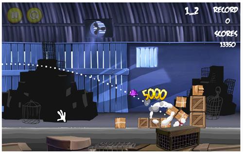 Angry Birds Rio pirata e em flash