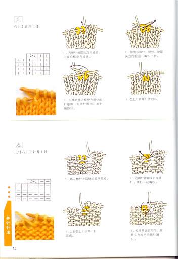 Вязание условные обозначения для японских схем