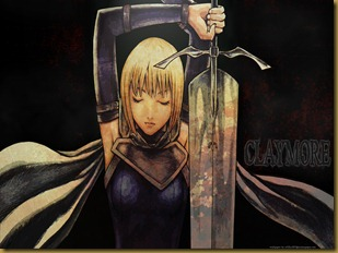 Konachan.com - 53636 cape clare claymore photoshop sword weapon