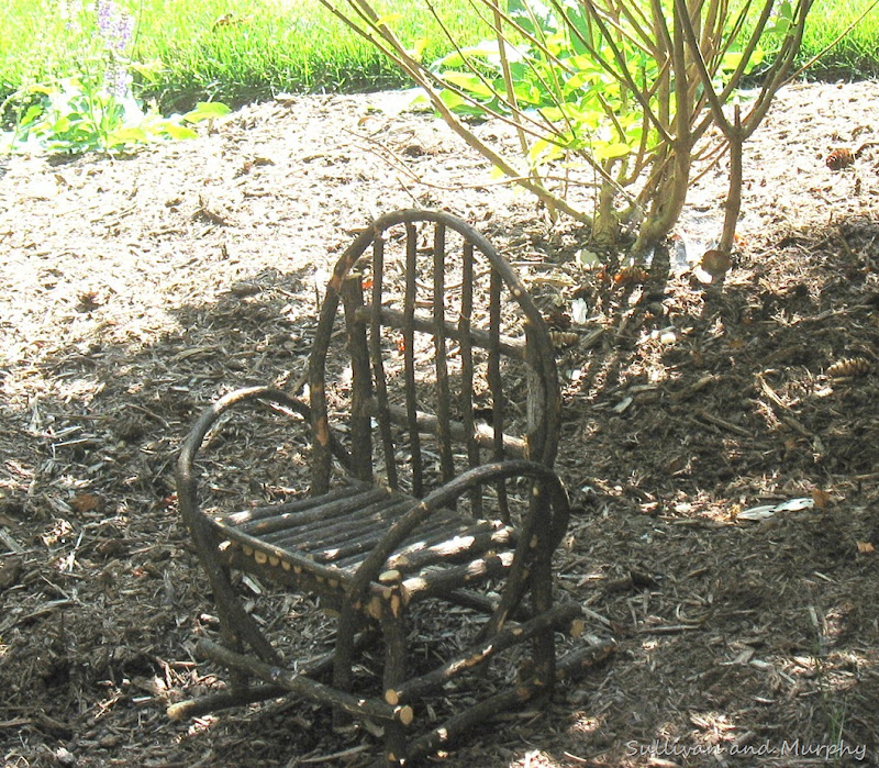 mini twig chair