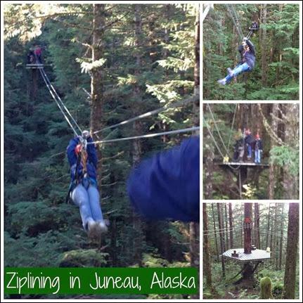 Many Waters Ziplining in Juneau, Alaska