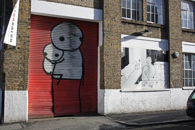 London Street Art Stik