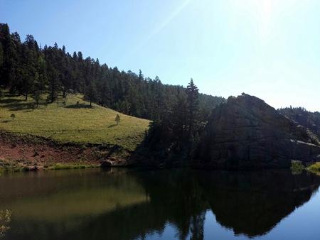 Staunton State Park Elk Falls Pond