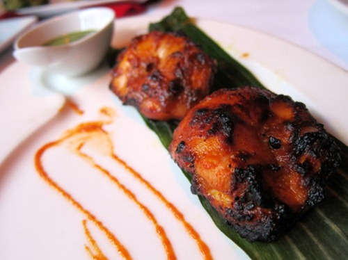 Shalay Chicken Tikka: Smoked with garam masala