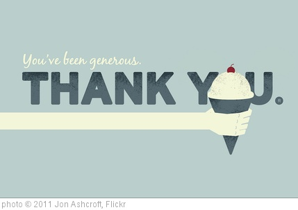 'Thank you Card' photo (c) 2011, Jon Ashcroft - license: http://creativecommons.org/licenses/by/2.0/