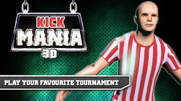 Screenshot of KICK MANIA 3D - Football