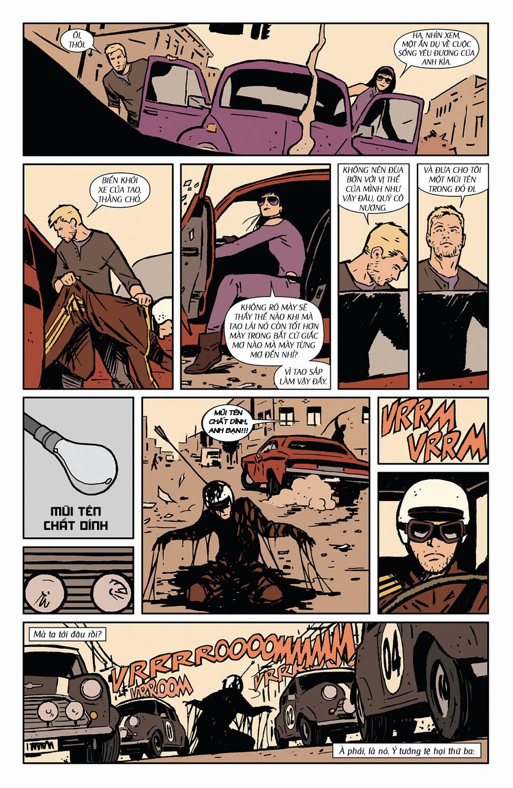 Hawkeye 2012 chap 3 - Trang 15