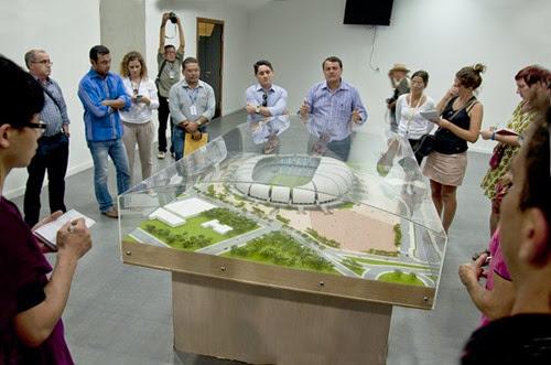 Jornalistas visitam Arena das Dunas fot Vivian Galvão 5
