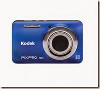 FLipkart : Buy Kodak FZ51 Camera at Rs.3499 with 4GB Card and Pouch